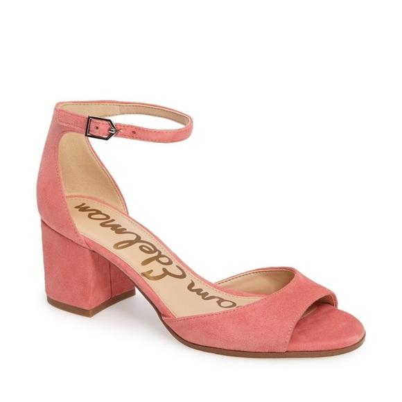 8a9f09b13ff7cd NEW Sam Edelman Susie d Orsay Ankle Strap Sandal